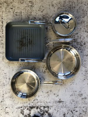 Cuisineart and greenpan pots and pans for Sale in Washington, DC