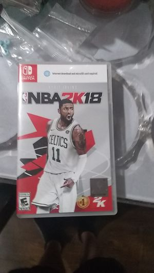 Nintendo switch nba 2k18 for Sale in Los Angeles, CA
