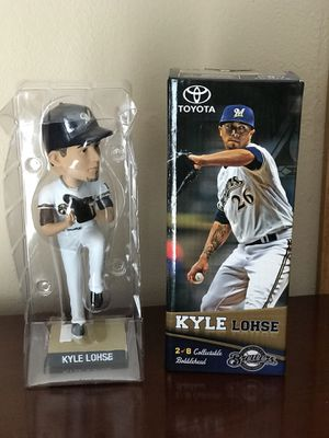 Kyle Lohse Bobblehead 2013 Toyota Milwaukee Brewers New In Box for Sale in Eau Claire, WI