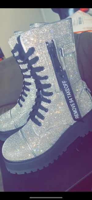 Billionaire bling boots for Sale in Austin, TX