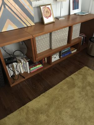 Modular wood bookshelf for Sale in Mount Rainier, MD