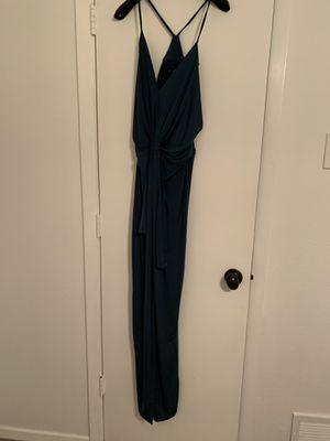 FASHION NOVA - Green maxi dress, size medium for Sale in Dallas, TX