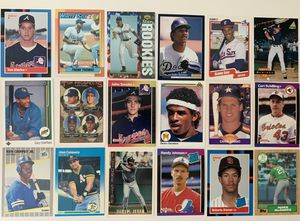 18 All Rookie Baseball Cards inc Griffey Jr Jeter McGwire Thomas Piazza for Sale in Brea, CA