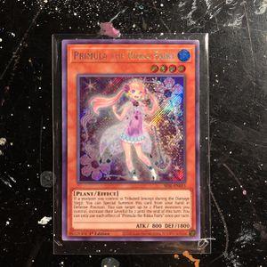 Yu-Gi-Oh Card Primula The Rikka Fairy 1st Edition SESL-EN015 HOLO for Sale in Berwyn, IL