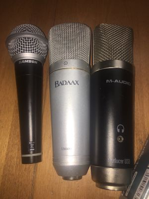 Older studio microphones for Sale in Worcester, MA