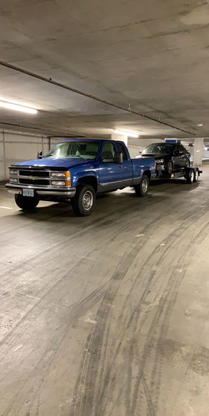 1997 k2500 454 Silverado extended cab short bed for Sale in Puyallup, WA