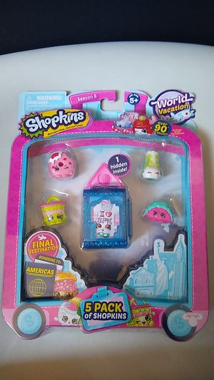 Shopkins 5pk for Sale in Raleigh, NC
