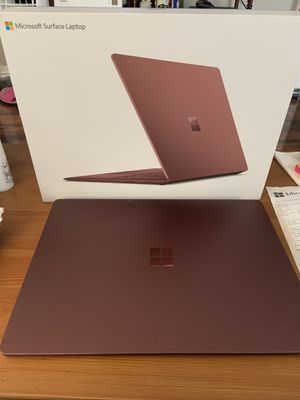 Microsoft Surface Laptop - Intel Core i7 / 256GB SSD / 8GB RAM - Burgundy for Sale in Rowland Heights, CA