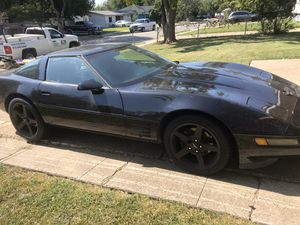 1991 Chevy corvette c4 $5000 or trade for a truck for Sale in Mesquite, TX
