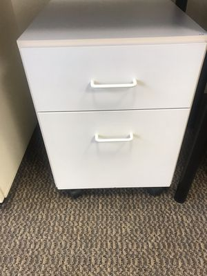 White file cabinet for Sale in Portland, OR