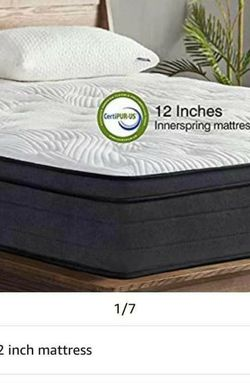 Brand new King Mattress 12 Inch for Sale in Rowland Heights,  CA