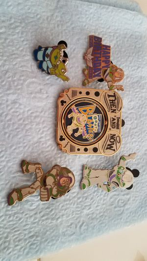 Disney pins Toy Story Buzz Lightyear for Sale in Victorville, CA