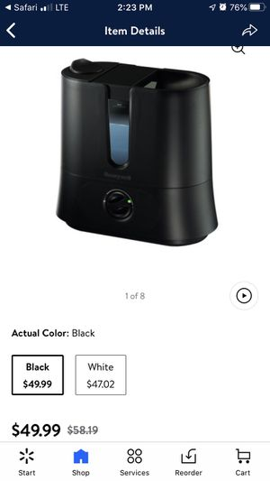 Honeywell Cool Mist Humidifier for Sale in Bakersfield, CA