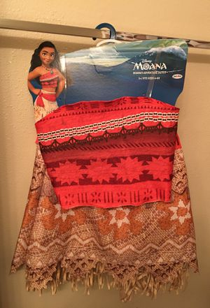Moana costume *Pick up only & FCFS* for Sale in Wahneta, FL