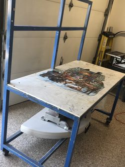 Heavy Duty Workbench On Casters for Sale in Anaheim,  CA