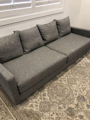 Grey sofa sleeper couch for Sale in Phoenix, AZ