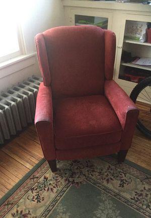 Red recliner, super comfy for Sale in Denver, CO