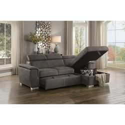 Ferriday Taupe Storage Sleeper Sectional for Sale in Austin,  TX