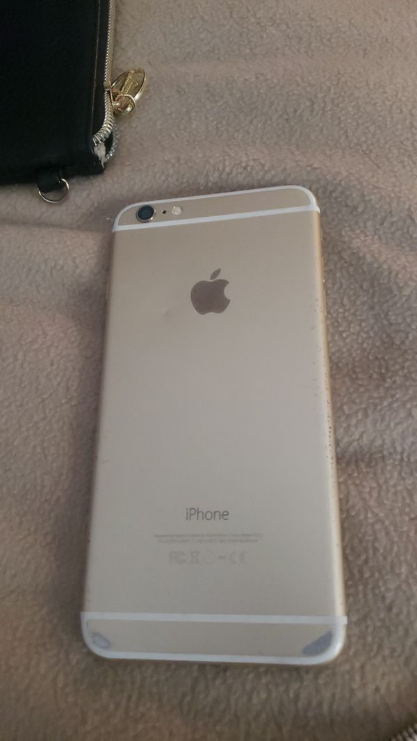 IPHONE 6 S PLUS 128 GB LIGHTLY USED/WITH CASE