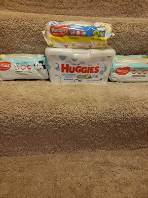 Huggies baby wipes for Sale in Columbus, OH