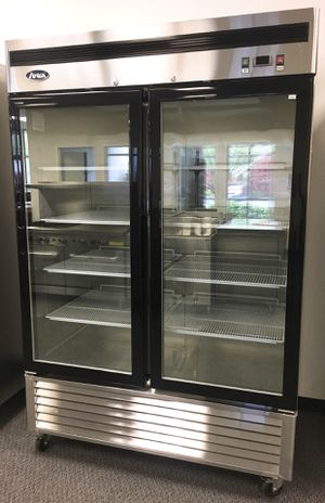Double glass door freezer for Sale in Kent, WA