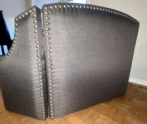 Gray Upholstered Headboard for Sale in Crofton, MD