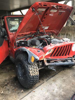Jeep Wrangler TJ 1997 -2006 parts for Sale in San Antonio, TX