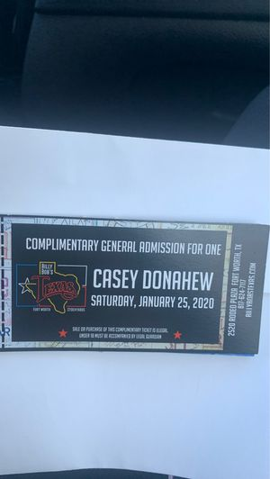 Casey Donahew Billy Bobs Texas for Sale in Fort Worth, TX