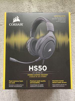 Corsair HS50 Headphones for Sale in Houston, TX