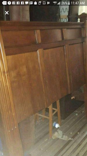 Wooden head board for Sale in Dry Prong, LA