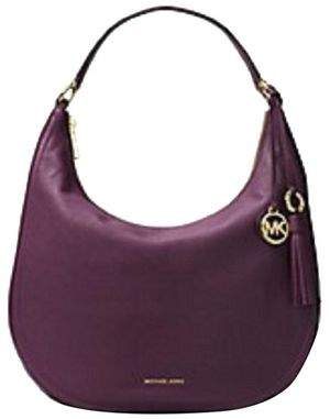 Michael Kors Lydia Hobo Damson Leather Shoulder Bag for Sale in IND CRK VLG, FL