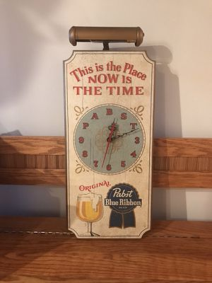 Used, Vintage Pabst blue ribbon clock for Sale for sale  Geneva, IL