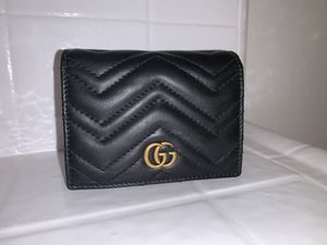 Gucci Marmont Gg Card Case Wallet for Sale in Los Angeles, CA