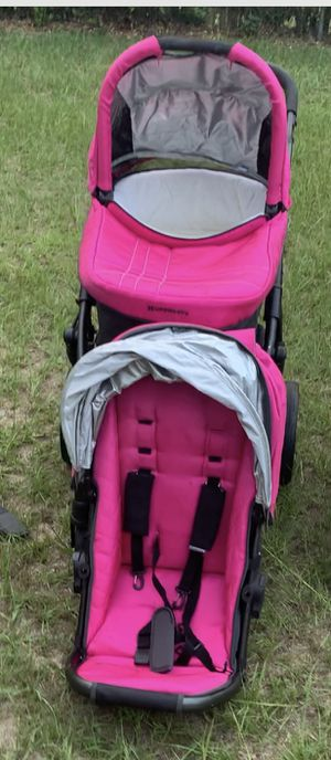 UPPABABY VISTA Pink Stroller Travel System for Sale in Columbia, SC