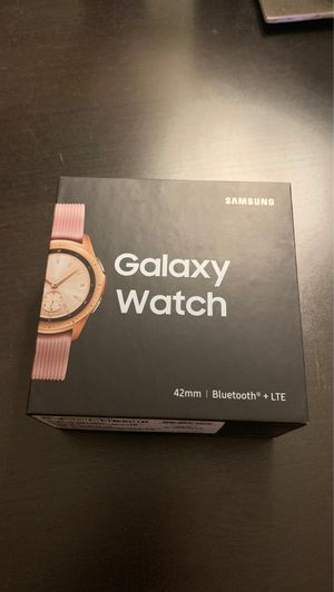 Samsung galaxy watch 42mm bluetooth+lte for Sale in Anaheim, CA