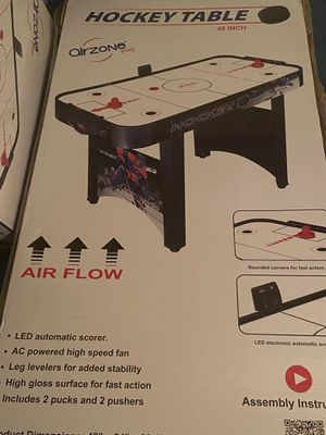 Air zone hockey table (Christmas) for Sale in The Bronx, NY