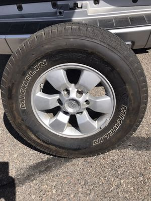Michelin 265/70/16 Tires set of 4 for Sale in Eagle Mountain, UT