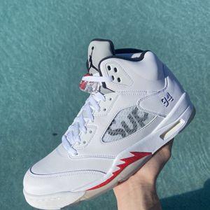 Jordan 5 Supreme White Size 11.5 for Sale in Los Angeles, CA