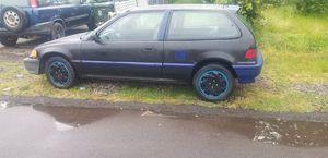 1991 honda civic ef hatchback for Sale in Salem, OR