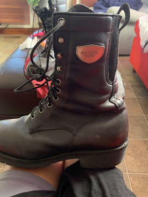 Red wings boots for men for Sale in Clayton, NC