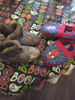 Skate shoes, light up shoes ,Spiderman slip in boodies and rain boots for Sale in YSLETA SUR, TX