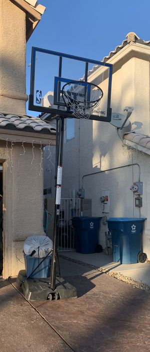 Spalding NBA Adjustable Basketball Hoop for Sale in Las Vegas, NV