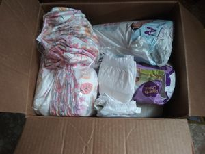 Newborn diapers for Sale in Spartanburg, SC
