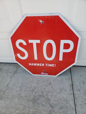 """30"""" x 30"""" Stop Sign - $15.00 dlls for Sale in Lake Elsinore, CA"""