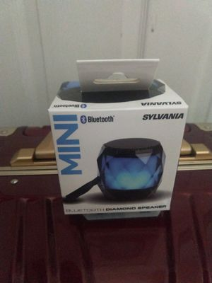 Sylvania MINI BLUETOOTH DIAMOND SPEAKER for Sale in Rowland Heights, CA