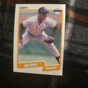 Jose Uribe misprint birthday card (Rare) Perfect Condition for Sale in Fort Washington, MD