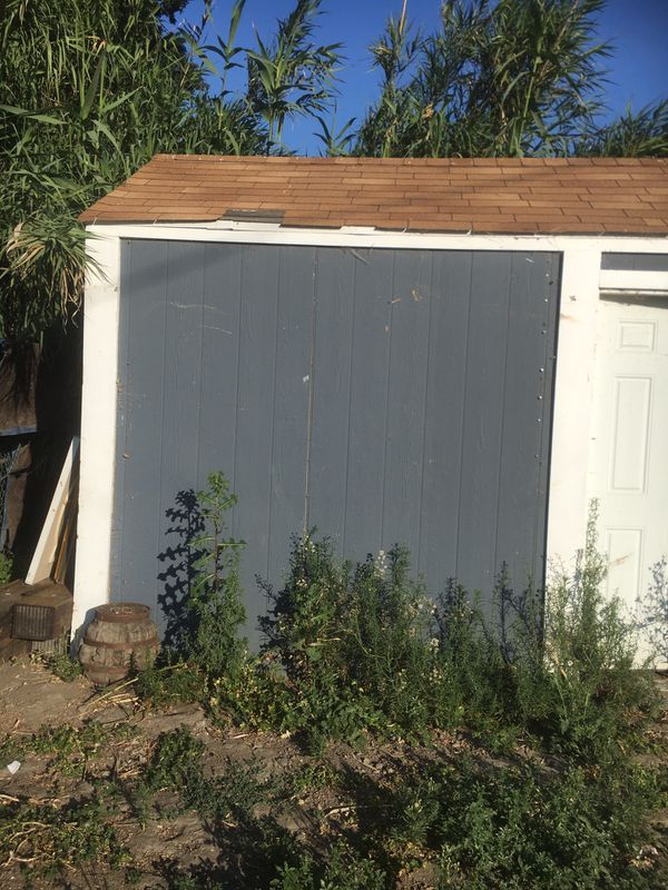 Two sheds need gone