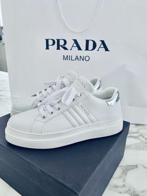 Prada sneakers 37.5 receipt box for Sale in Chicago, IL