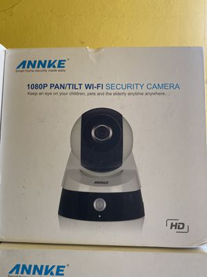 1080P PAN/TILT WIFI SECURITY CAMERA for Sale in Alhambra, CA