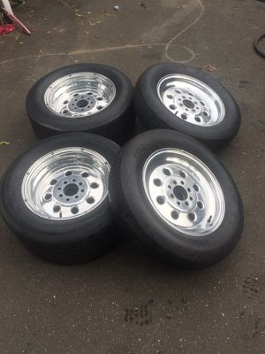15 inch weld racing rims 4 lug for Sale in East Haven, CT